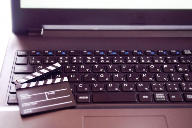 パソコンのキーボード画像
